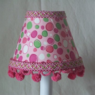Luscious Lollipop 5 Fabric Empire Candelabra Shade