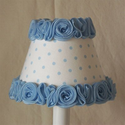 Little Miss Muffet Night Light Shade Color: Blue