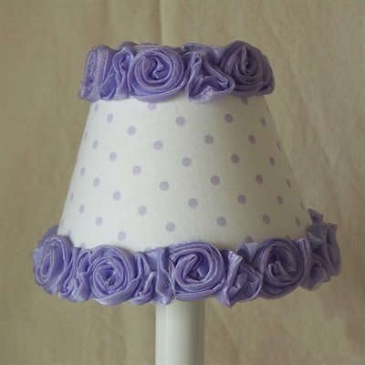 Little Miss Muffet Night Light Shade Color: Lavender