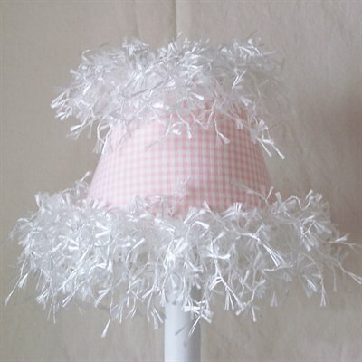 Fantastic Fluff 5 Fabric Empire Candelabra Shade