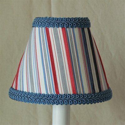 Sailboat Stripe 11 Fabric Empire Lamp Shade