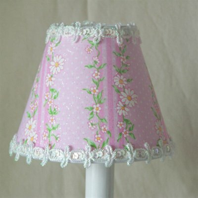 Sparkling Vines 11 Fabric Empire Lamp Shade