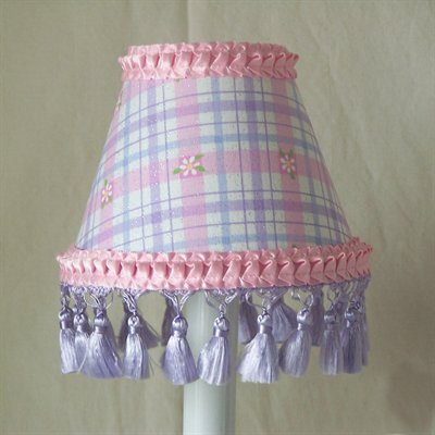 Daisy Plaid Night Light