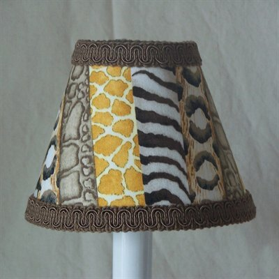 Jungle Luv 11 Fabric Empire Lamp Shade