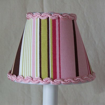 Raspberry Truffle 11 Fabric Empire Lamp Shade