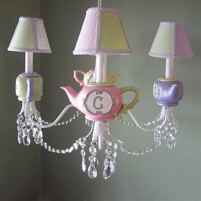 Sparkling Twinkle Toes 5-Light Shaded Chandelier