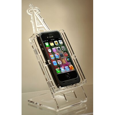 """Caseworks International MLB Cell-Fan Stand - Phone Size: Up to 6.63"""" H x 3.75"""" W, MLB Team: Los Angeles Angels at Sears.com"""