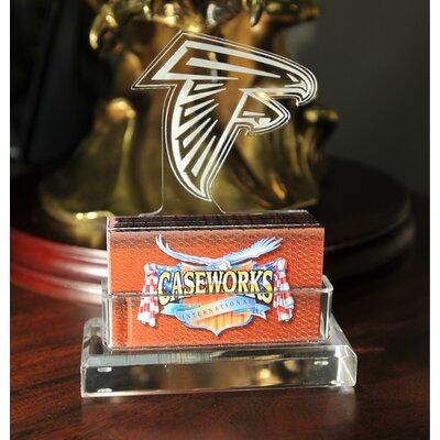 Business Card Holder in Gift Box Team: Atlanta Falcons