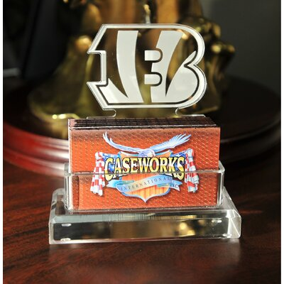 Business Card Holder in Gift Box Team: Cincinnati Bengals