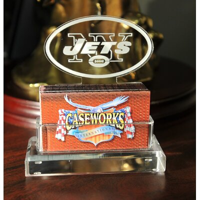 Business Card Holder in Gift Box Team: New York Jets