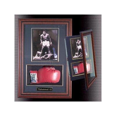 Boxing Glove And Photo Framed Memorabilia Color: Black, Uv Protection: No