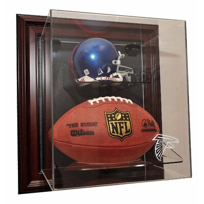 "Caseworks International Mini Helmet and Football ""Case-Up"" Display - Color: Mahogany, UV Protection: No, Team: Tampa Bay Buccaneers� at Sears.com"