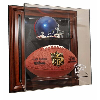 "Caseworks International Mini Helmet and Football ""Case-Up"" Display - Color: Brown, UV Protection: Yes, Team: NFL Logo at Sears.com"