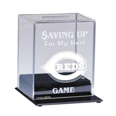 Caseworks International MLB Team Logo Coin Bank - MLB Team: Cincinnati Reds