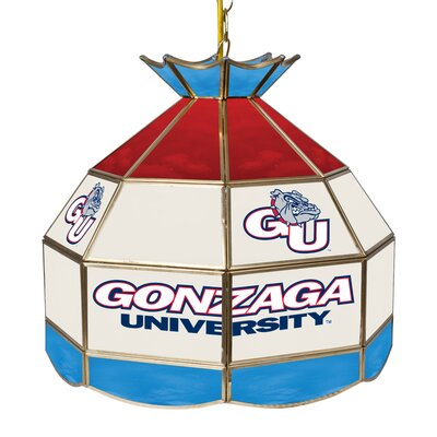 NCAA 16 Stained Glass Tiffany Lamp NCAA Team: Gonzaga