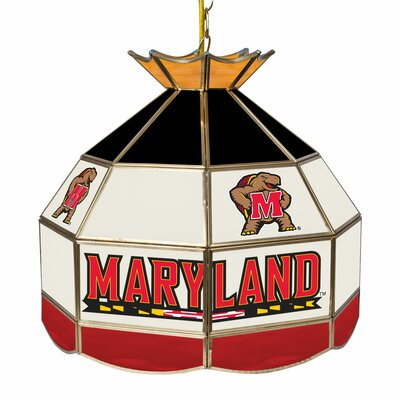 NCAA 16 Stained Glass Tiffany Lamp NCAA Team: Maryland