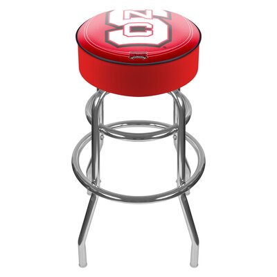 NCAA 31 Swivel Bar Stool NCAA Team: North Carolina State