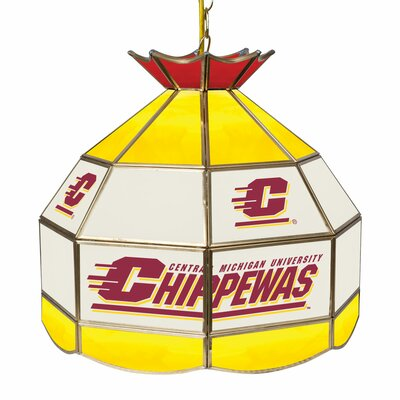 NCAA 16 Stained Glass Tiffany Lamp NCAA Team: Central Michigan