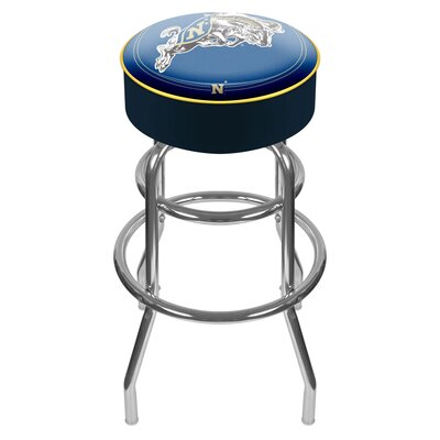 NCAA 31 Swivel Bar Stool NCAA Team: US Naval Academy