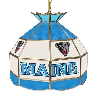 NCAA 16 Stained Glass Tiffany Lamp NCAA Team: Maine