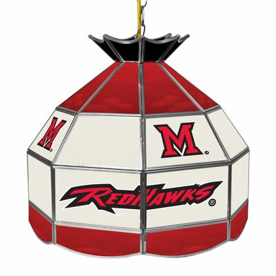 NCAA 16 Stained Glass Tiffany Lamp NCAA Team: Miami of Ohio
