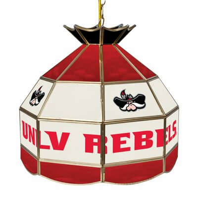 NCAA 16 Stained Glass Tiffany Lamp NCAA Team: UNLV
