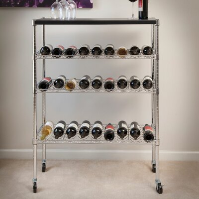 27 Bottle Floor Wine Rack