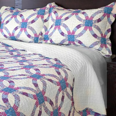 Theo 3 Piece Quilt Set Size: Full / Queen