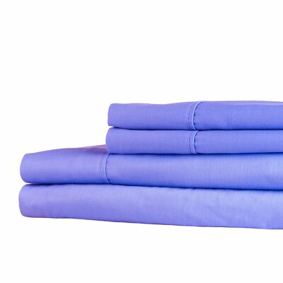 300 Thread Count Sheet Set Size: King, Color: Periwinkle