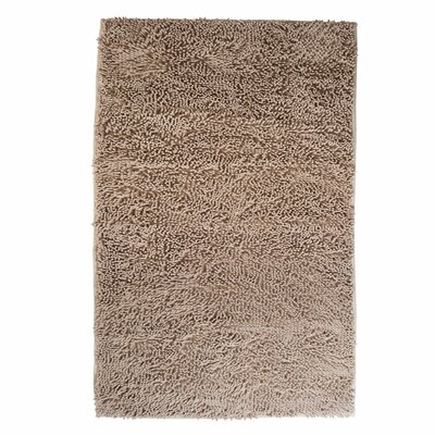 High Pile Ivory Solid Area Rug Rug Size: Rectangle 19 x 3