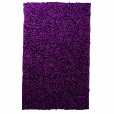 Atre High Pile Shag Accent Purple Area Rug