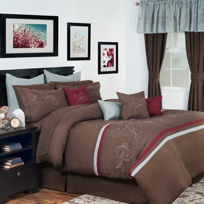 Briella Room Comforter Set Size: King