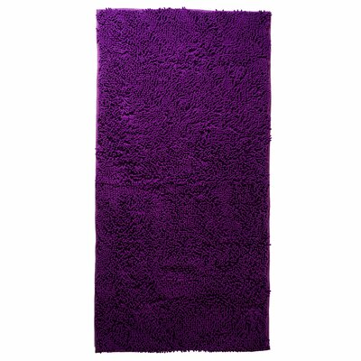 Jami High Pile Purple Solid Area Rug Rug Size: Rectangle 26 x 5
