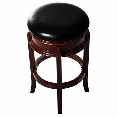 29 Swivel Bar Stool Base Finish: Brown