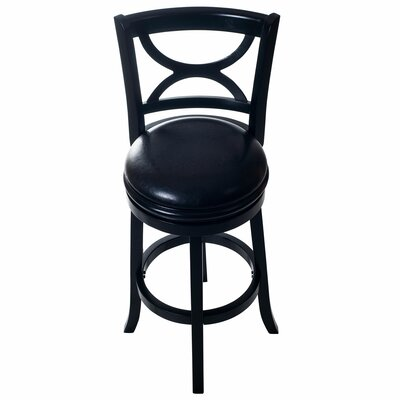 29 Swivel Bar Stool Base Finish: Black