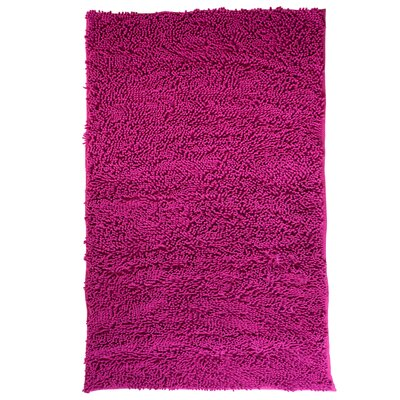Capodilupo High Pile Shag Accent Pink Area Rug