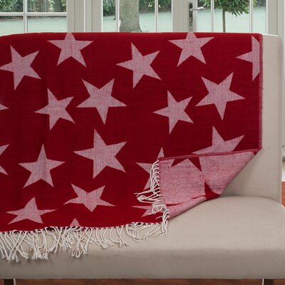 Jacquard Stars Throw Blanket