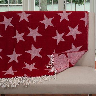 Jacquard Stars Throw Blanket