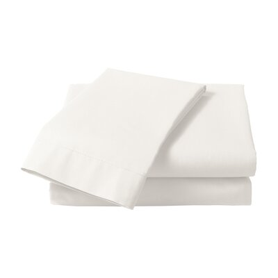 1000 Thread Count Cotton Sateen Sheet Set Size: Queen, Color: White