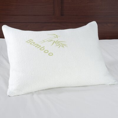Rayon from Bamboo Memory Foam Standard Pillow