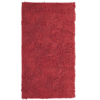 High Pile Coral Area Rug Rug Size: 19 x 3