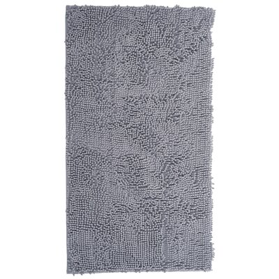 High Pile Gray Area Rug Rug Size: 19 x 3