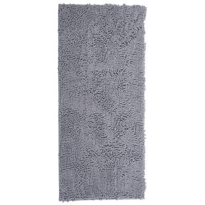 High Pile Gray Area Rug Rug Size: Rectangle 26 x 5