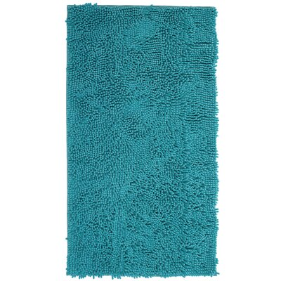 Shypski High Pile Shag Accent Seafoam Area Rug