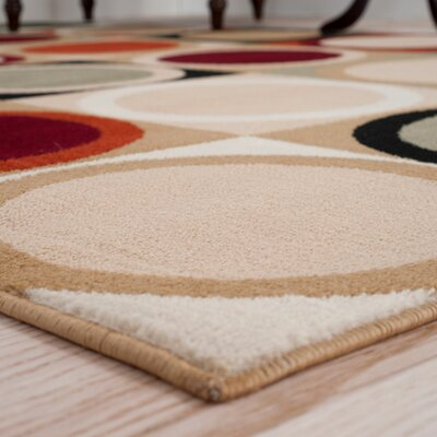 Circles Multi Area Rug Rug Size: Runner 18 x 5