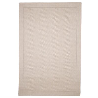 Border Beige Indoor/Outdoor Area Rug