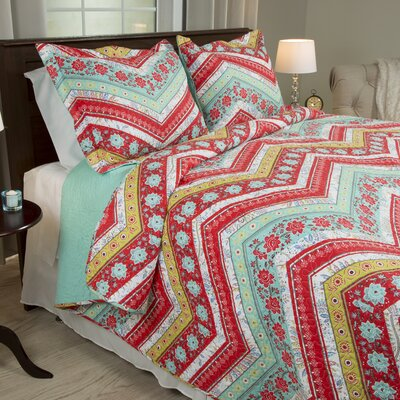 Zina Quilt Set Size: King