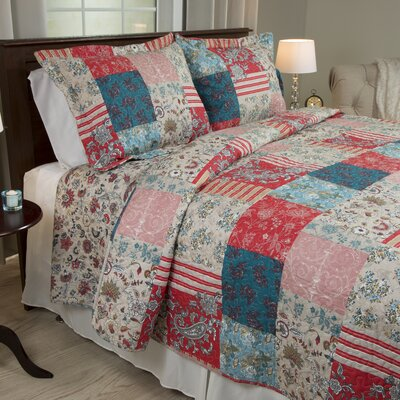 Mallory Quilt Set Size: King
