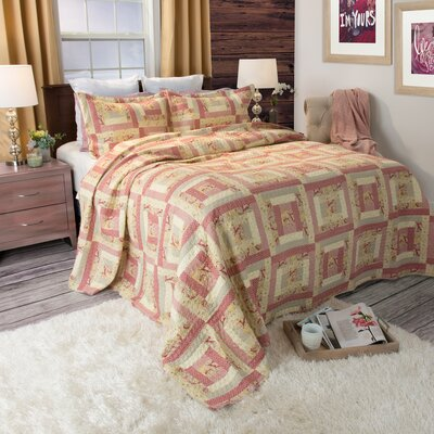 Melissa Quilt Set Size: Full / Queen