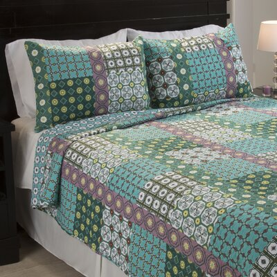 Cotton Quilt Set Size: Full/Queen